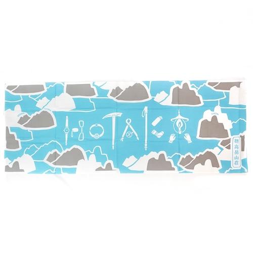"""【水色】手ぬぐい """"HOTAKA"""""""