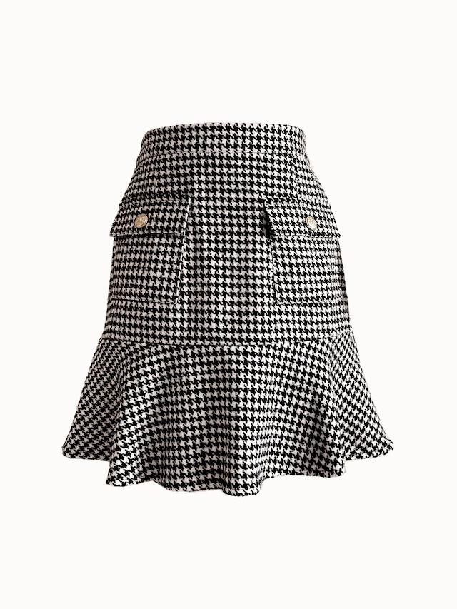 【予約】original minette chidori skirt