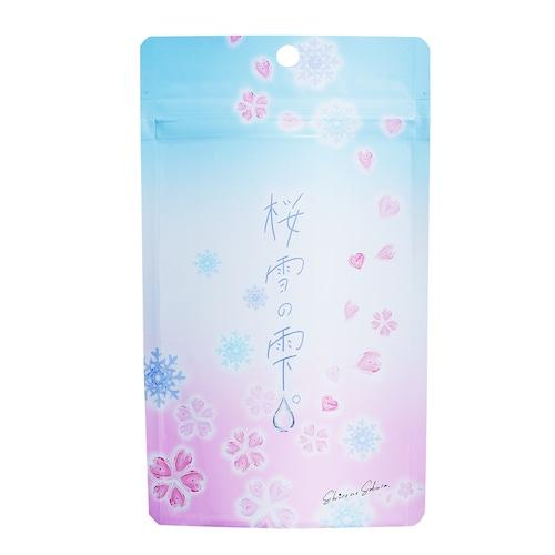 【透明感サプリ】桜雪の雫。