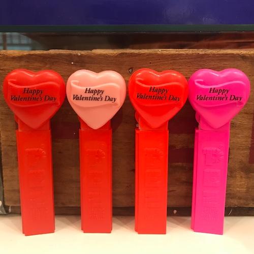 PEZ バレンタインペッツ 全4種セット 1996年製 バレンタインデー