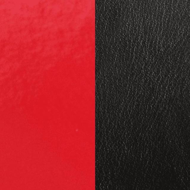 【レジョルジェット】8mmレザー エナメルレッド/ブラック