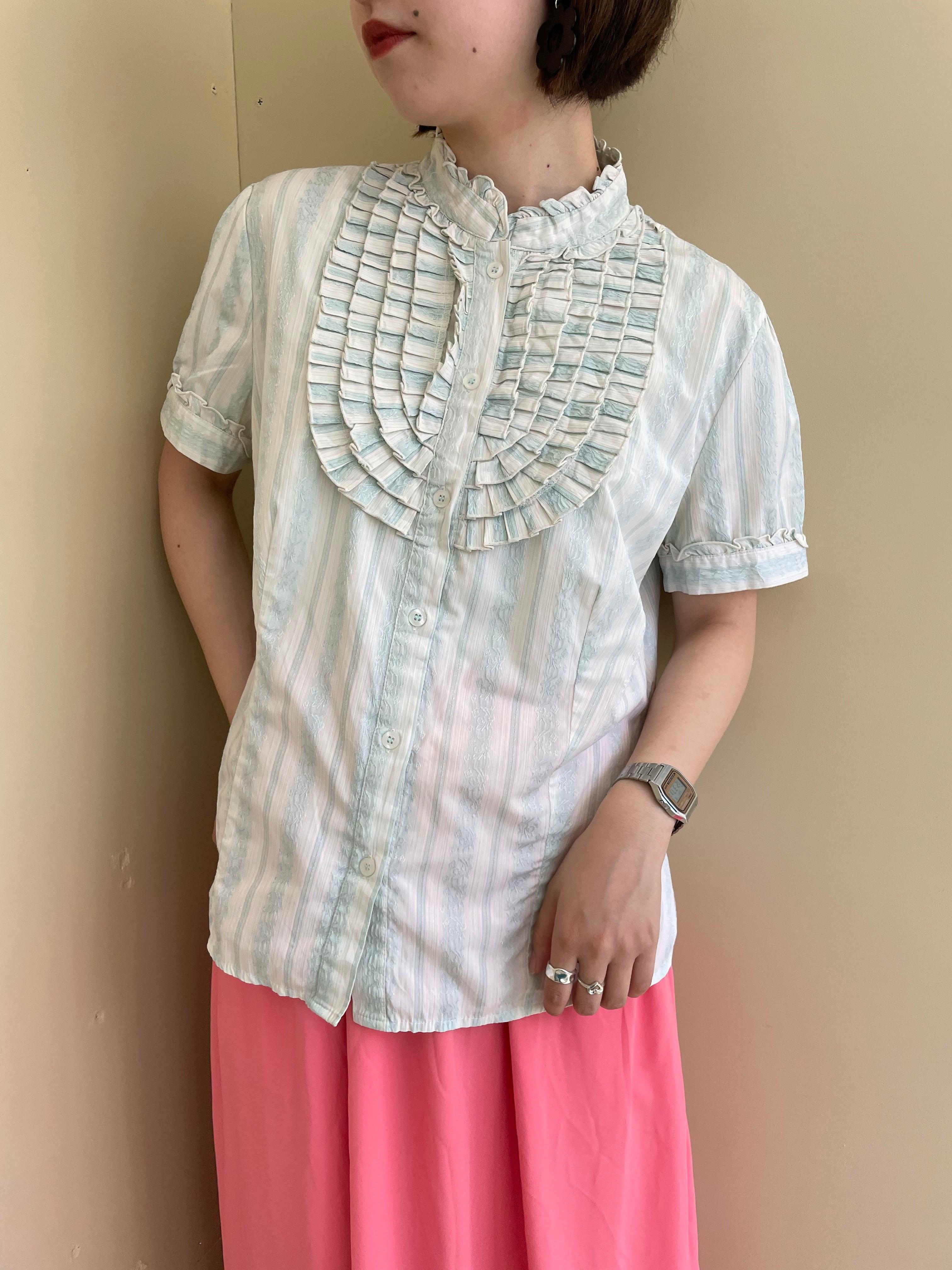 frill blouse / 7SSTP31-07