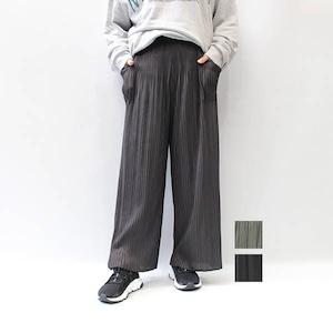 MAISON MAVERICK PRESENTS(メゾン・マベリック・プレゼンツ)プリーツパンツ 2021秋冬新作 [送料無料]
