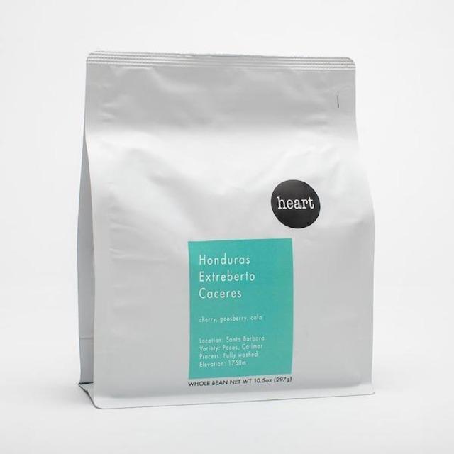 HEART ロースターズ - ホンジュラス EXTREBERTO CACERES コーヒー豆 226g