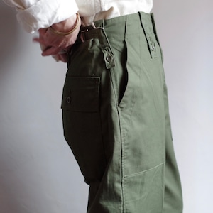 British Military Pants #1 / ミリタリー ファティーグ パンツ