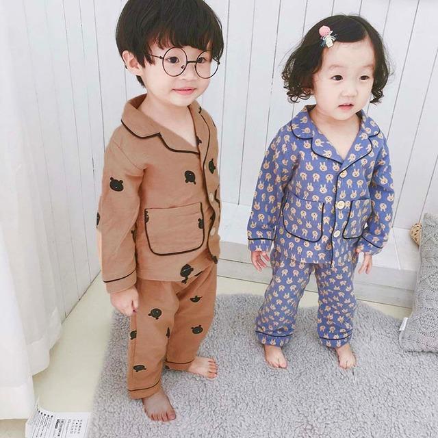 どうぶつ柄パジャマ【R018】