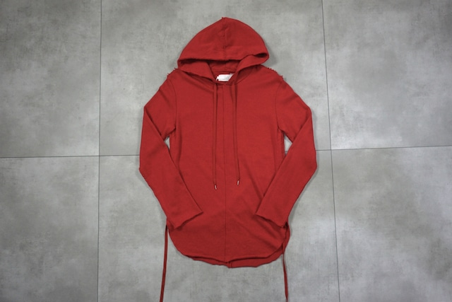 21AWご予約商品 ASKYY / CORD HOODIE -LIMITED COLOR- / RED