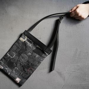 Printed sacoche bag