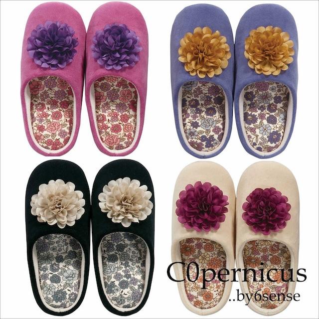 洗えるスリッパ Botanical・RoomShoes 浜松雑貨屋C0pernicus