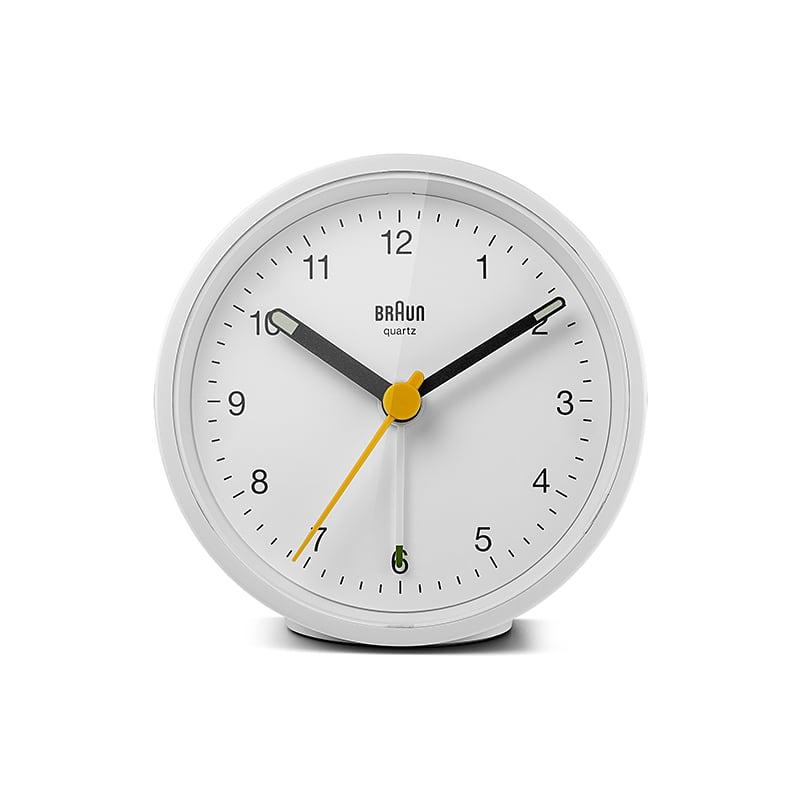 BRAUN (ブラウン) Alarm Clock BC12W【ホワイト×ホワイト】