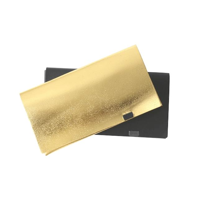 ボレロ ロングウォレット ブラック×ゴールド&ゴールド×ブラック