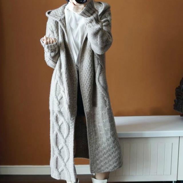セーターパーカージャケット 4色 【200935】 大きいサイズあり
