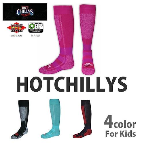 HOT CHILLYS (ホットチリーズ) キッズ プレミア ソックス 中厚 子供用 HC2216 冬 スキー スノボ アウトドア 雪山 ノルディック 靴下