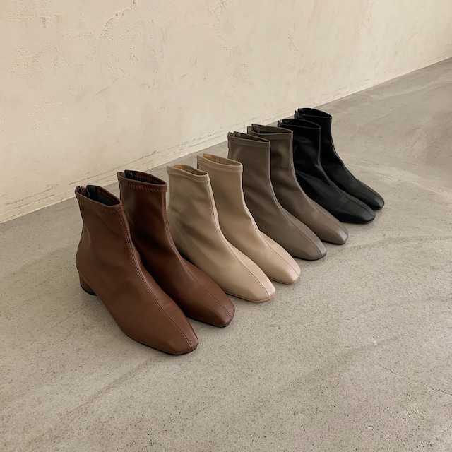 french chic ankle boots
