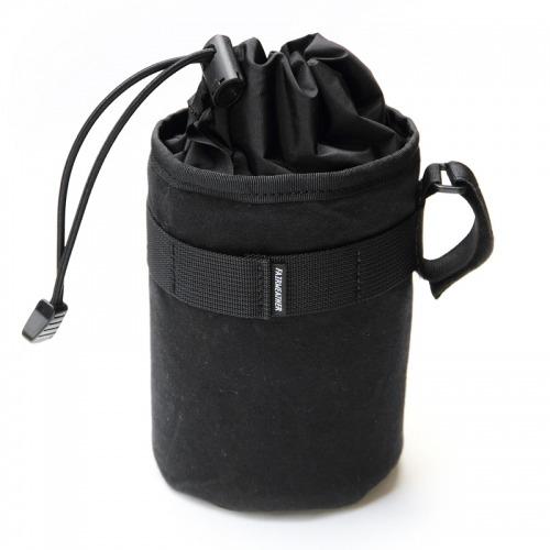 FAIRWEATHER  stem bag(ワックスド/ブラック)フェアウェザー ステムバッグ