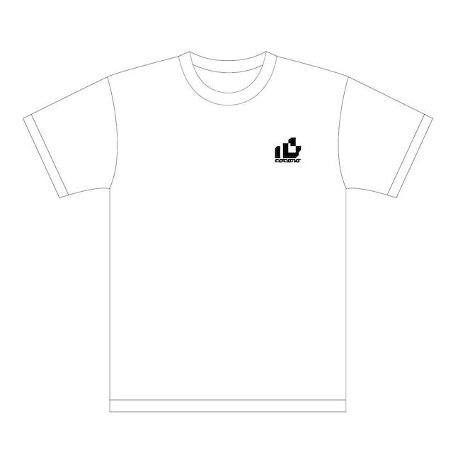 おはようございます×ピノキオピー×あらいやかしこ「心」Tシャツ(ホワイト) - メイン画像