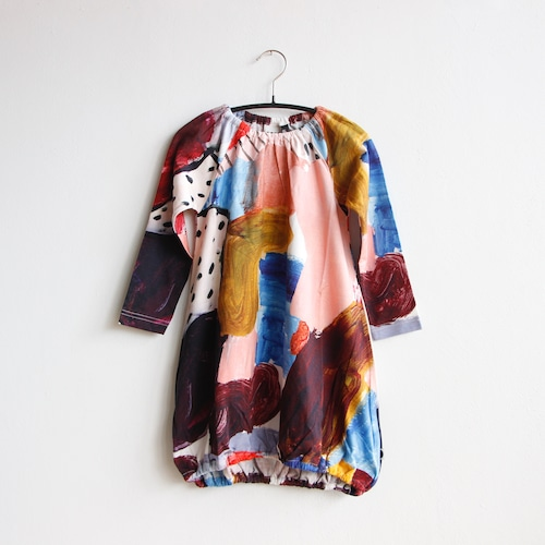 《PAPU 2020AW》POUCH DRESS / MULTICOLOR