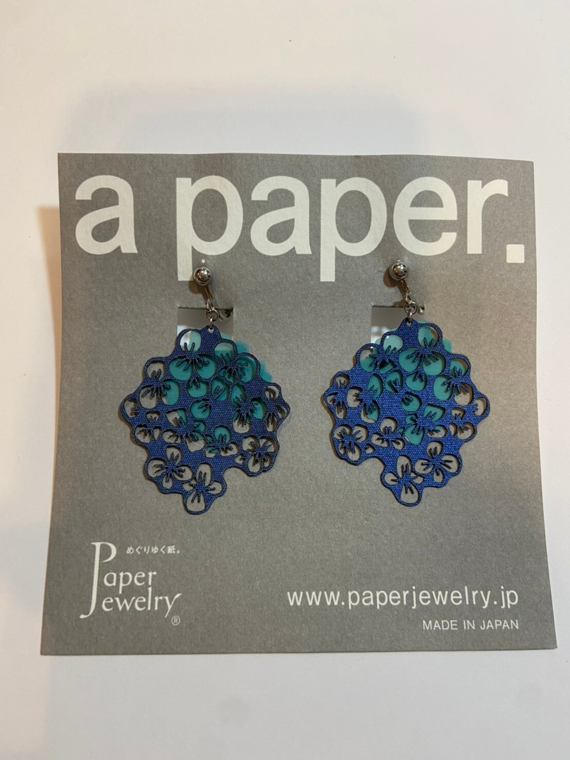 【Paper Jewely】ボン/イヤリング