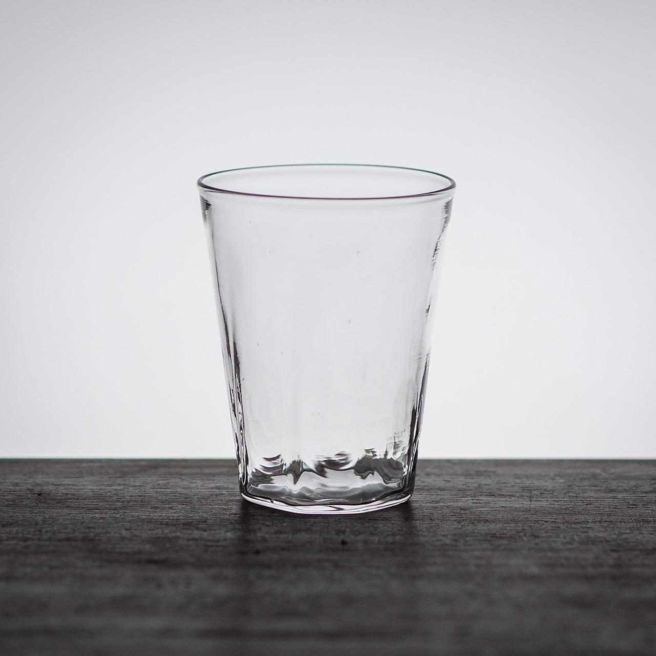 八角底グラス(ガラスのコップ・タンブラー)/小宮 崇