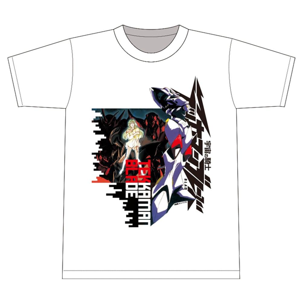 『宇宙の騎士テッカマンブレード』 Tシャツ 「TEKKAMANs」