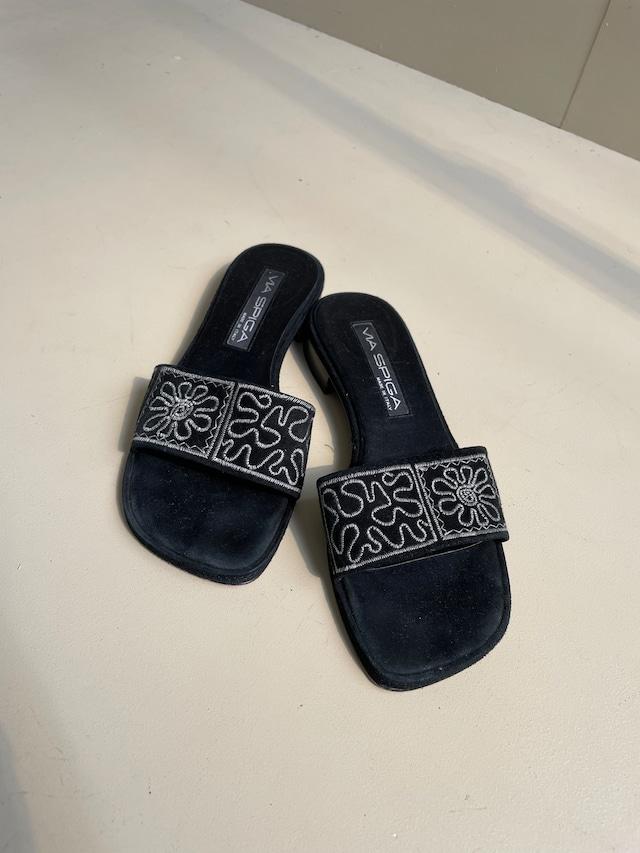 flower pattern sandal / 6SSGD30-28