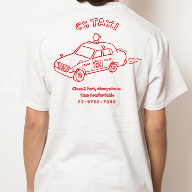 CS TAXI ポケットTシャツ <NAIJEL GRAPH X COFFEE SUPREME>