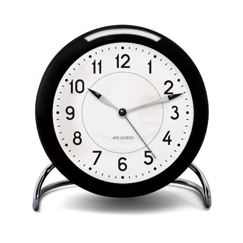 Arne Jacobsen(アルネ ヤコブセン) Station Table Clock(ステーションテーブルクロック)