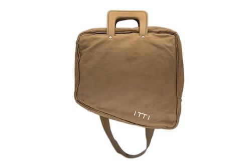 ITTI limited by salon de GAUCHO special naname-bag/brown 292