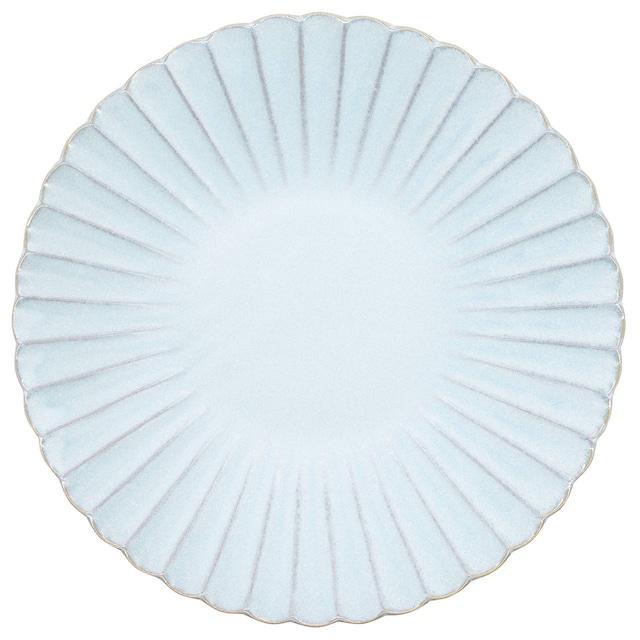 aito製作所 「花 hana」プレート 皿 23cm L みずはだ 瀬戸焼 288150
