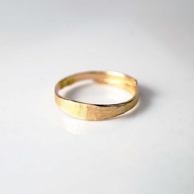 Phalange ・Pinky Ring / Overlap Ring (YG)