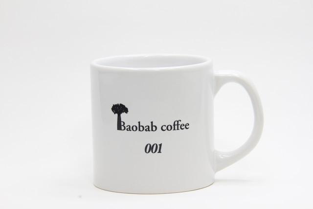 Baobabcoffeeマグカップ シリアルナンバー入り Sサイズ
