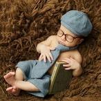 【即納】【ベビーコスプレ】 赤ちゃん 衣装 仮装 コスチューム【紳士】 S518