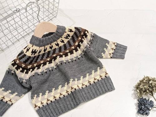 ビィンテージノルディックセーター