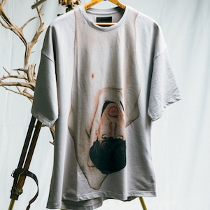 JOE CHIA - Mens knitted printed long tshirt - TP01-P