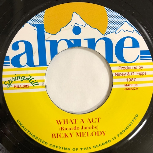 Ricky Melody(リッキーメロディ) - What A Act【7-20191】