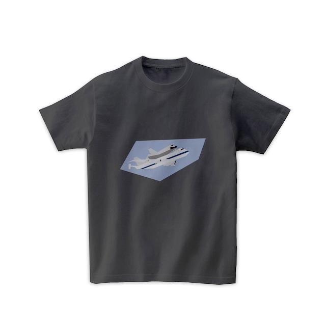 宇宙Tシャツ-スペースシャトル輸送機