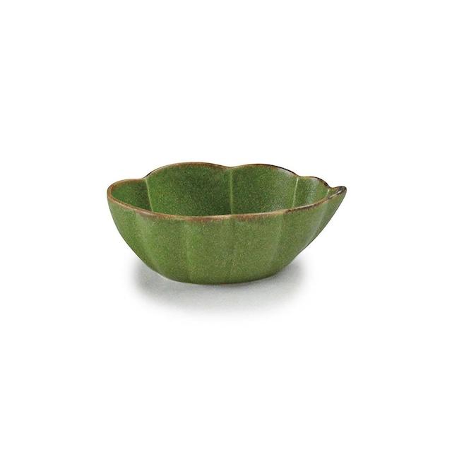 aito製作所 「翠 Sui」小鉢 雲形鉢 約14×9cm うぐいす 美濃焼 288206
