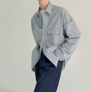 Casual cotton shirt   a-466