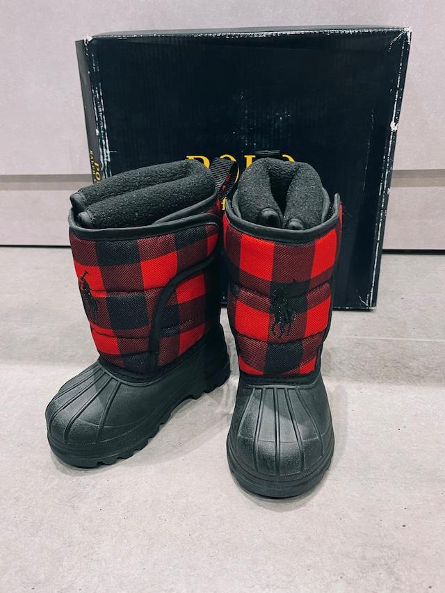 (KD263) 11cm POLO RALPH LAUREN ski boots