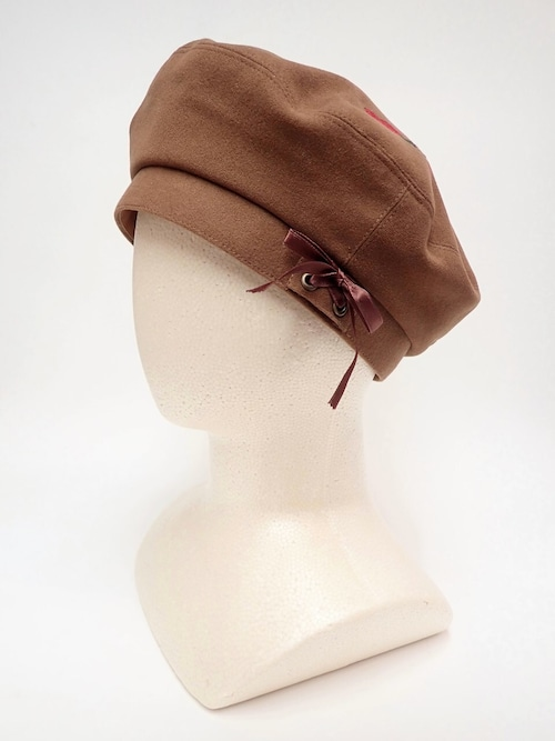 刺繍ベレー帽 王女のトランプベレー帽