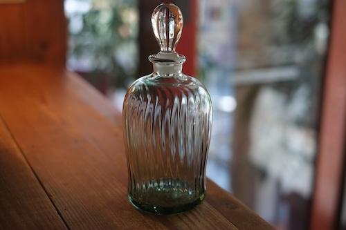 【カンナカガラス工房◆村松学】◆◆◆ボトル・(ラムネ色)◆◆】NEW !