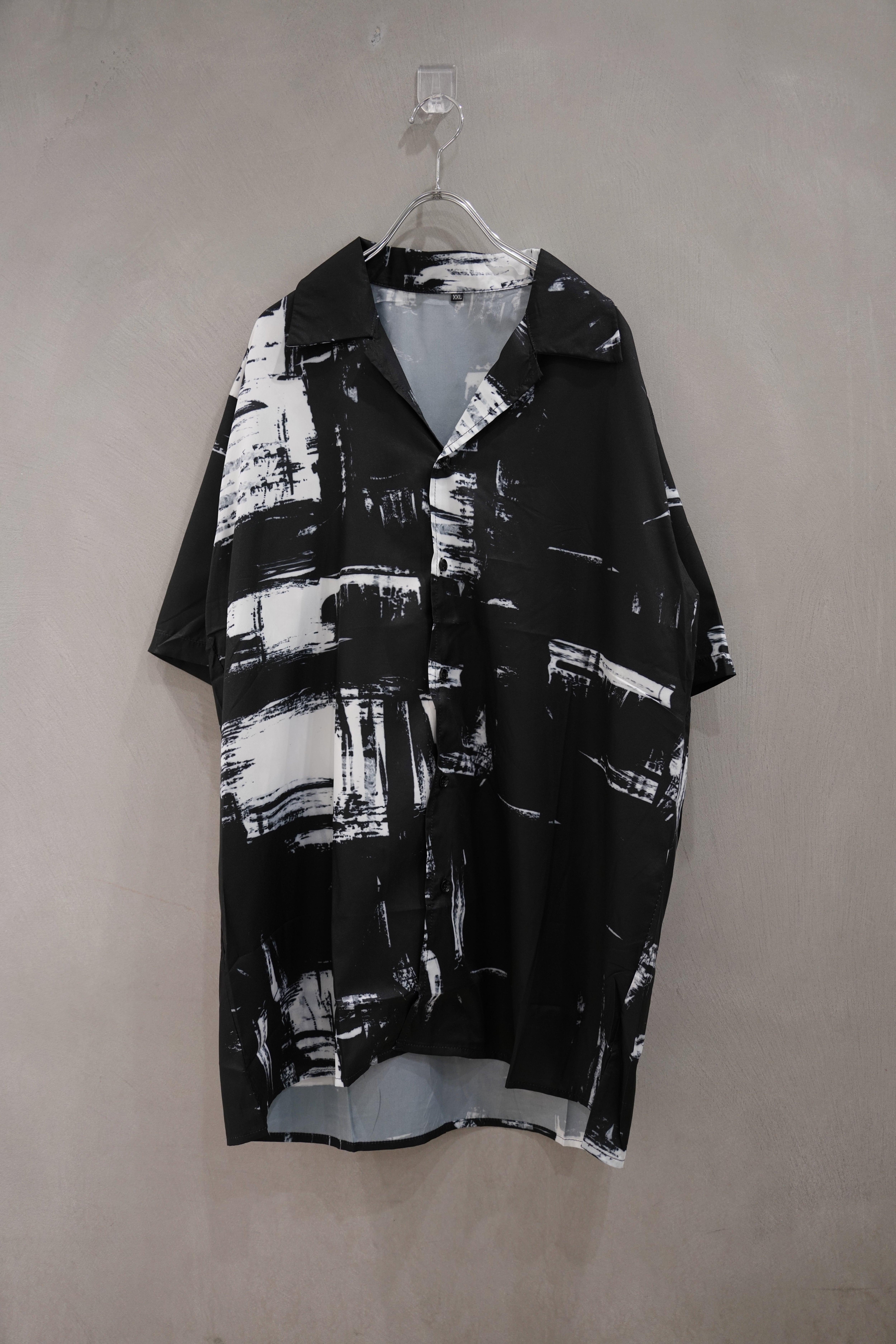 ℃℃℃ shadow pattern shirt
