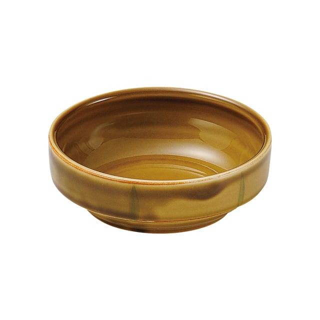 強化磁器 12.5cm すくいやすい食器 わら【1713-6020】