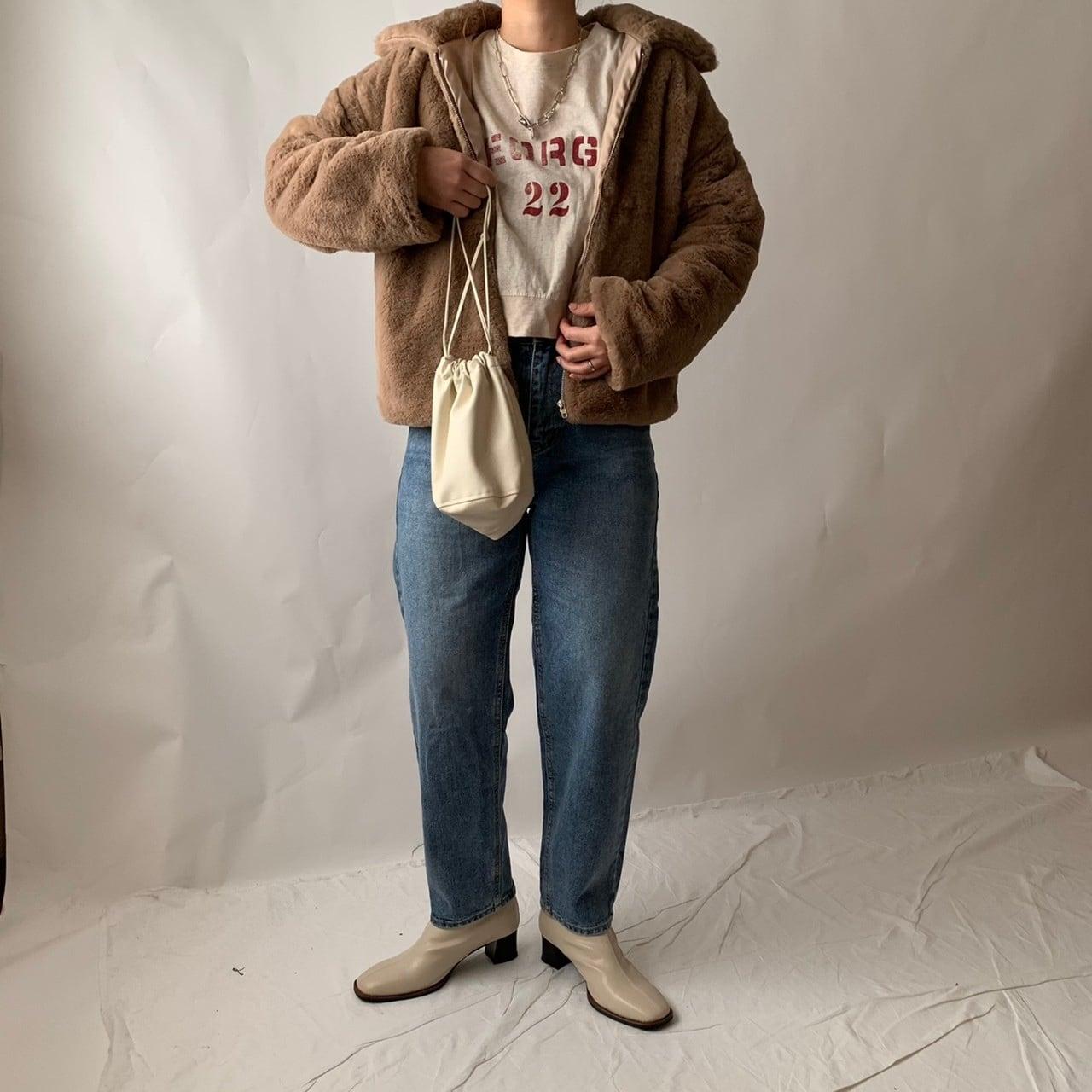 【asyu】ecofur jacket