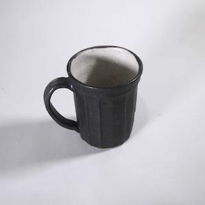 【薬師寺和夫】トールカップ しのぎ 黒