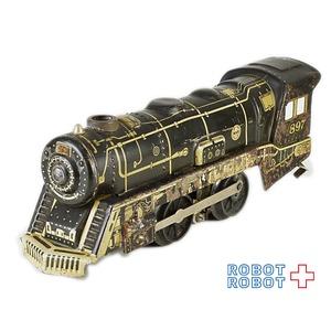 MARX ブリキ トレイン Oゲージ 蒸気機関車 モーター動力搭載 #897