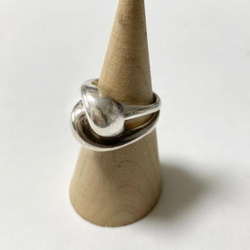 Vintage Modernist Sterling Ring Made In Poland