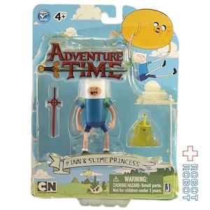 アドベンチャータイム フィン&スライムプリンセス 3インチ アクションフィギュア