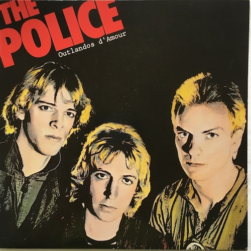 【LP・独盤】The Police  /  Outlandos D'Amour