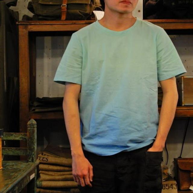 TOPANGA fashion グラデーションTシャツ ブルー